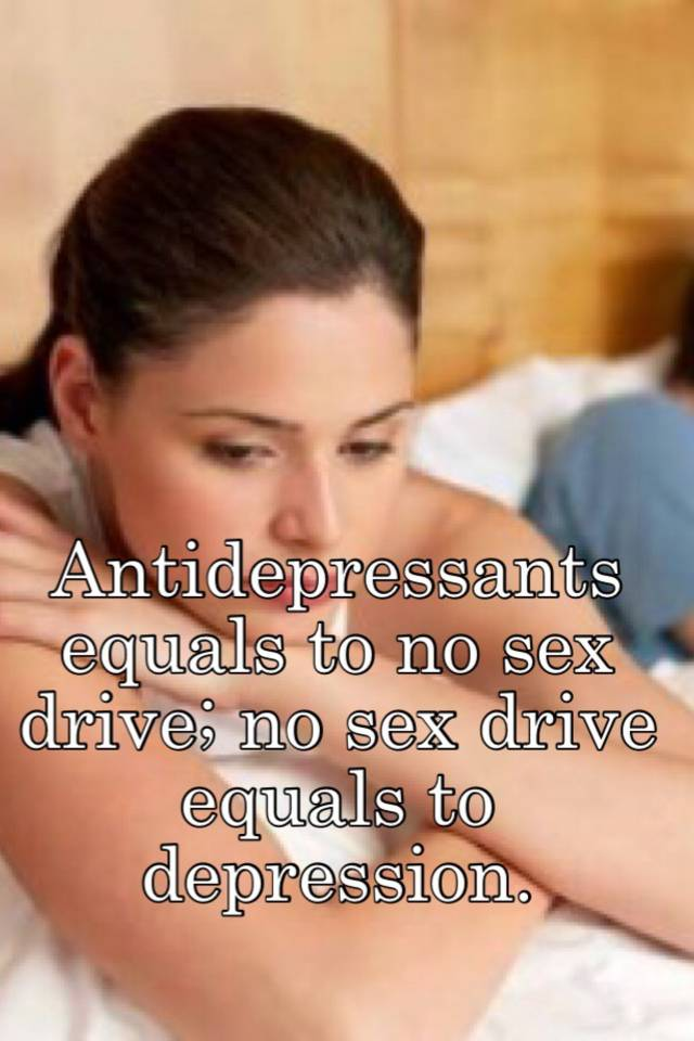 zoloft lose sex drive
