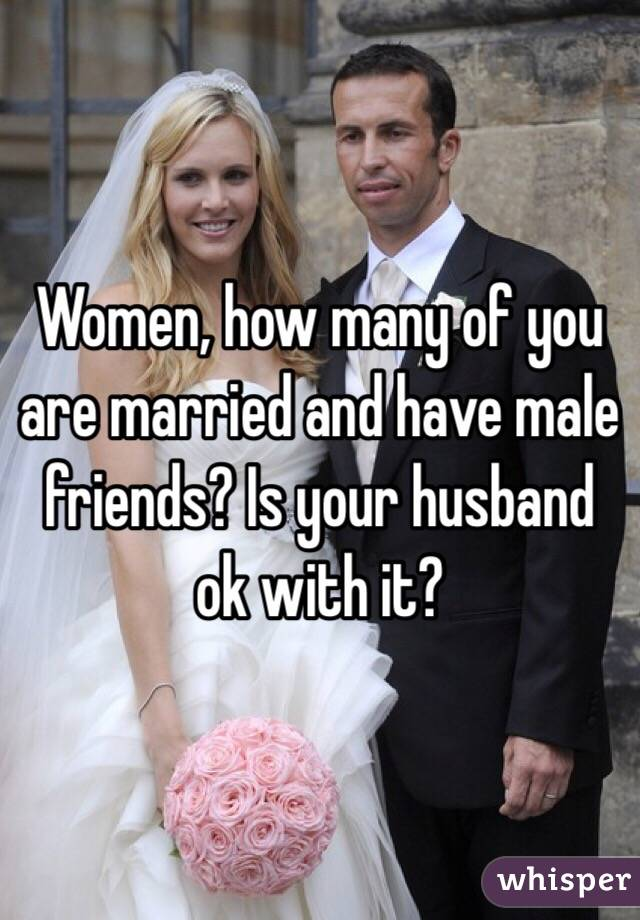 Married women with male friends