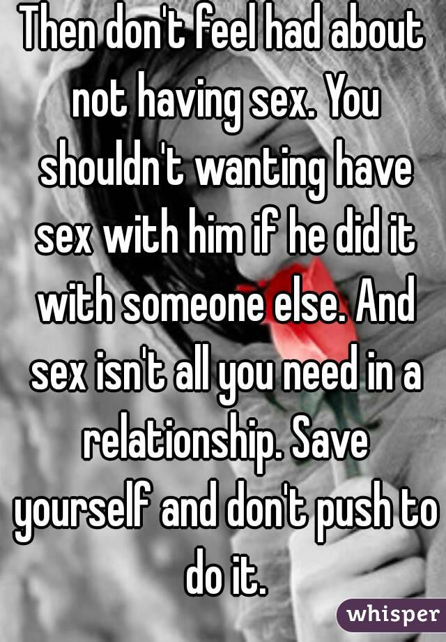 Not To It Have A Sex In Is Relationship Normal lot
