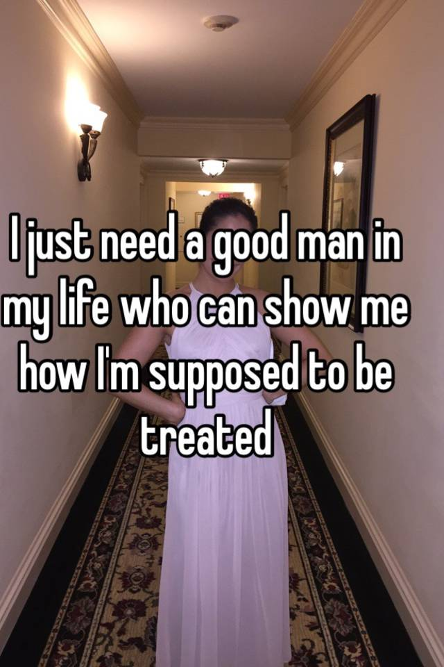 私の人生で良い人が必要です