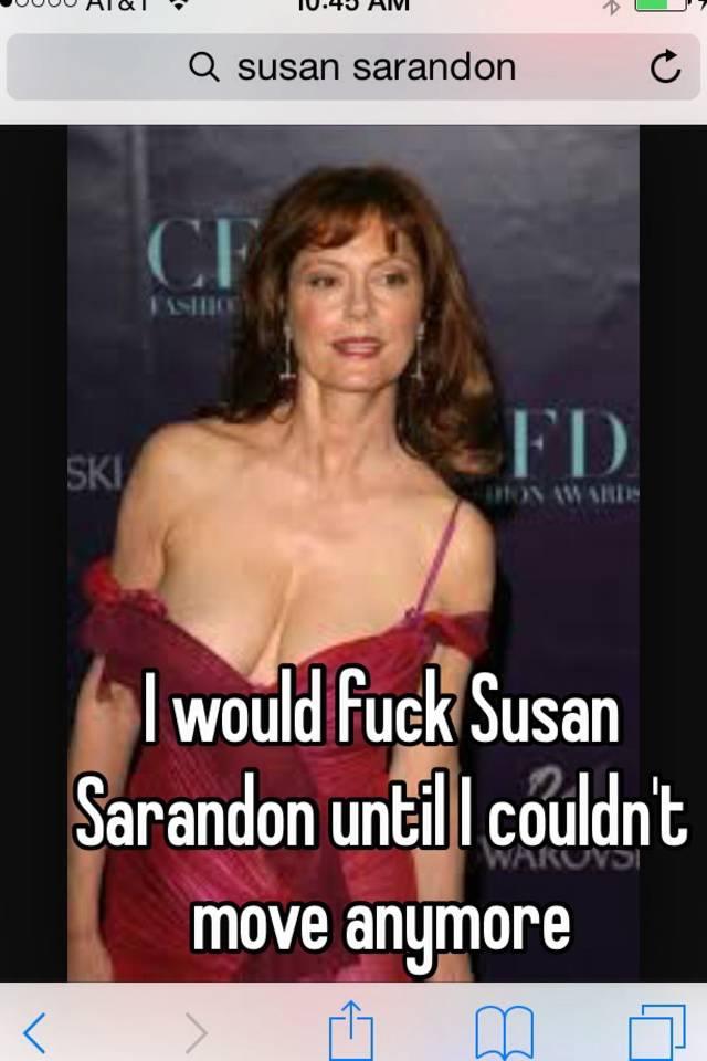 Susan sarandon fucking