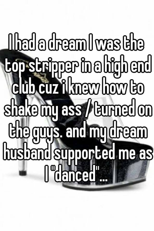 At the club i shake my ass