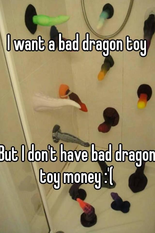 Bad dragon toy
