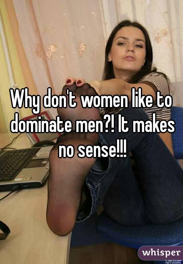 Women domination on men