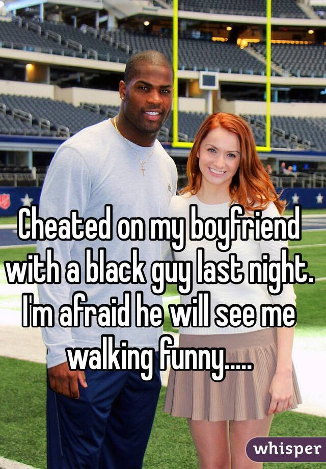My wife and a black guy