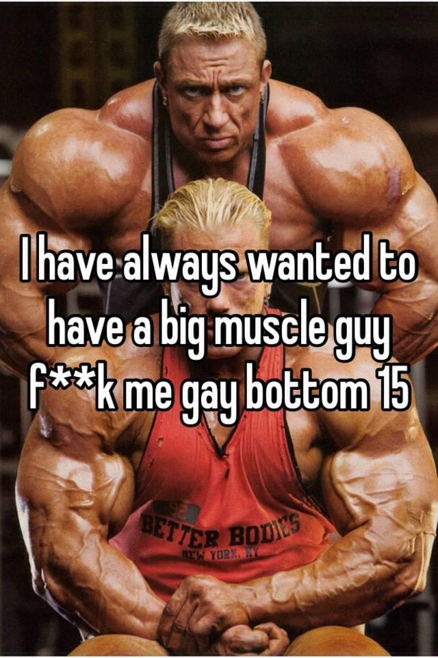 Big muscle bottom