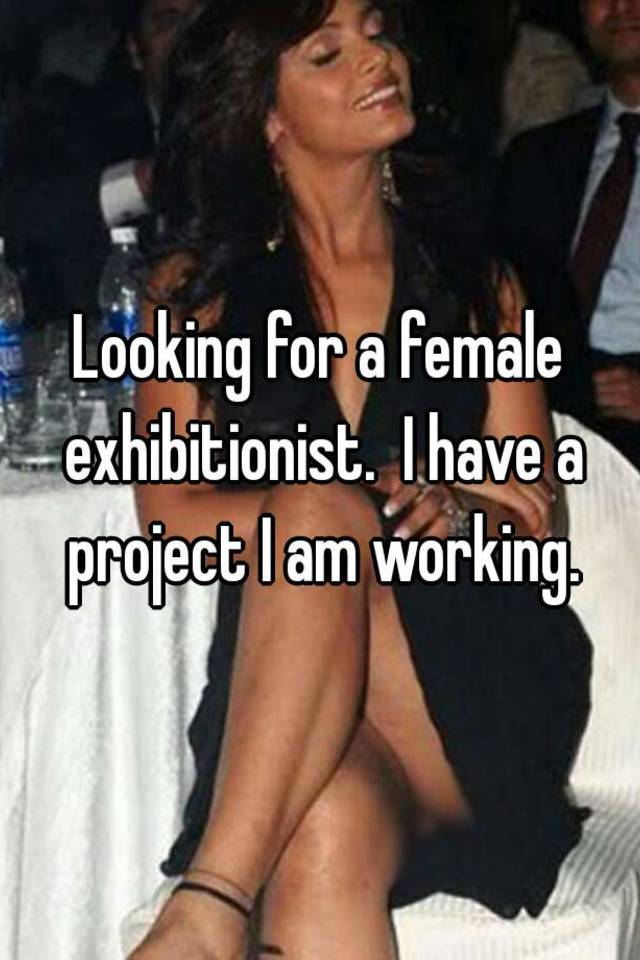 female exhabitionist