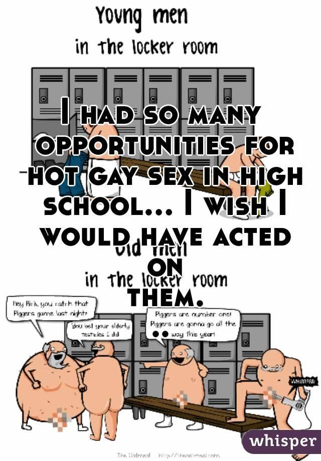High gay sex