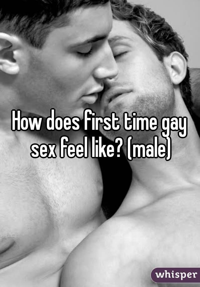 What does sex feel like man