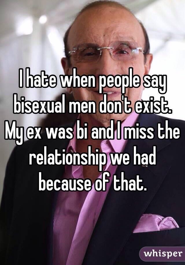 Do Bisexual Men Exist