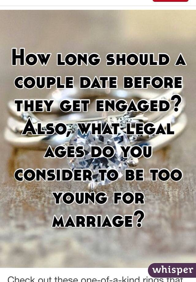 Leading Too Dating Long To How Be Long Marriage Is Before you compel ought