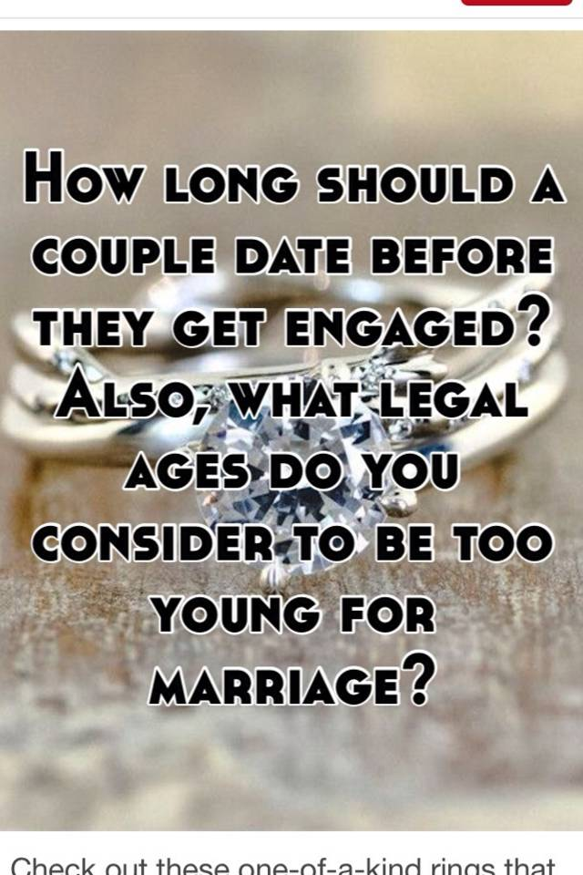 how long does the average couple date before getting married