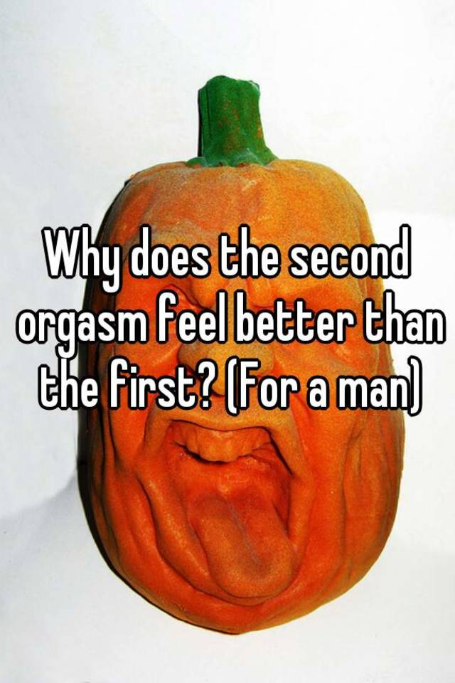 Men 2 second orgasm