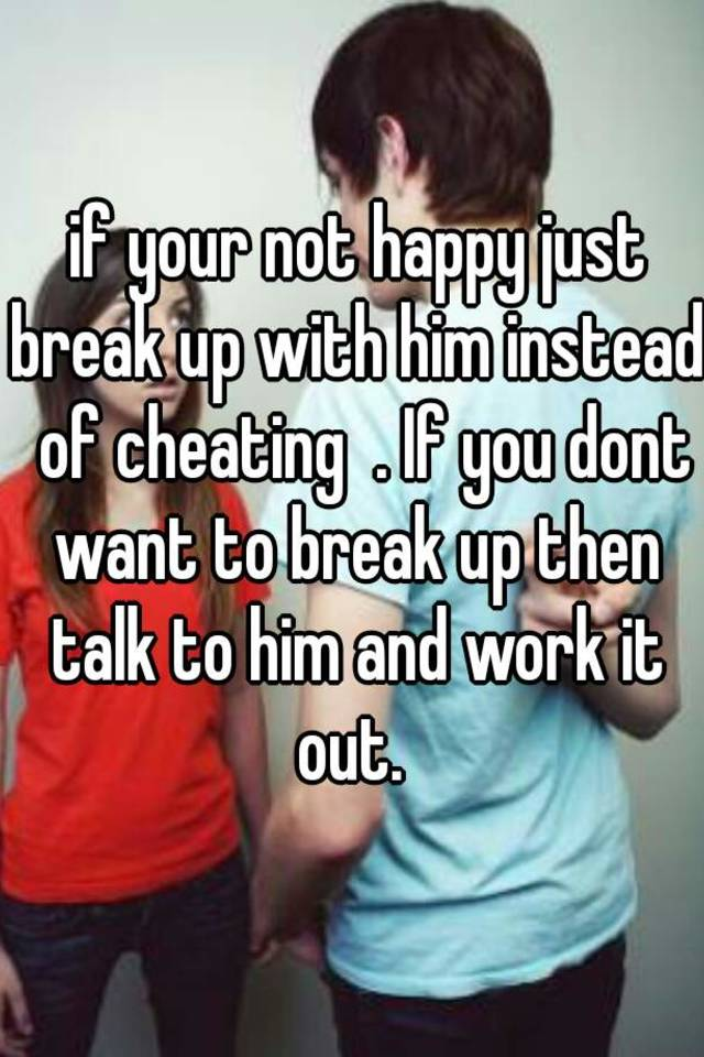 Is It Cheating If You Are On A Break