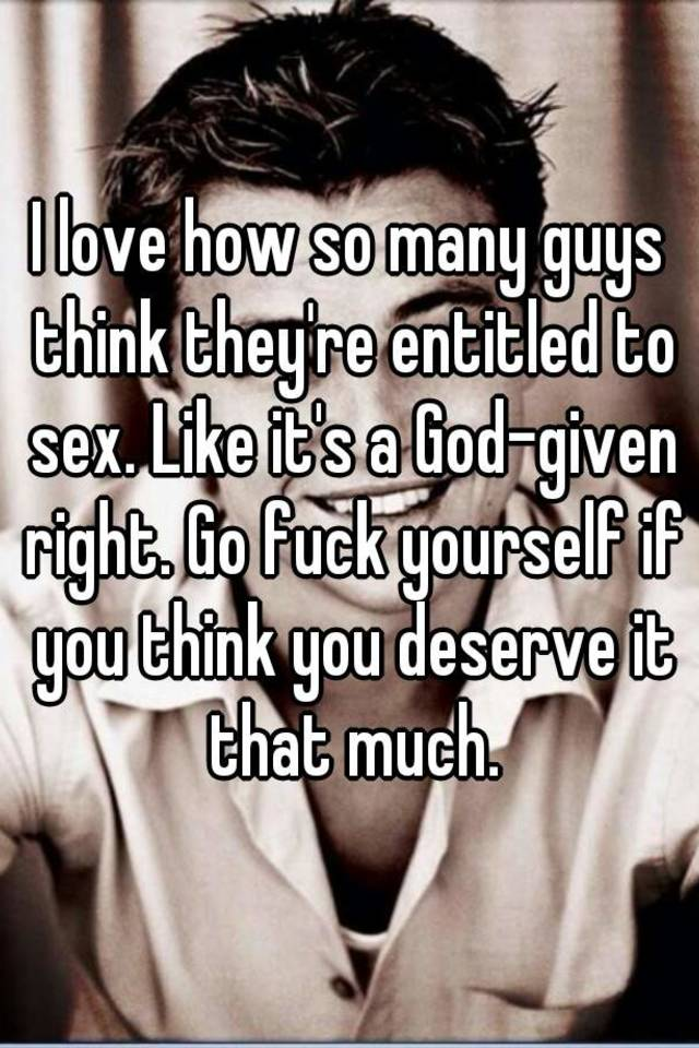 Why do guys think about sex so much