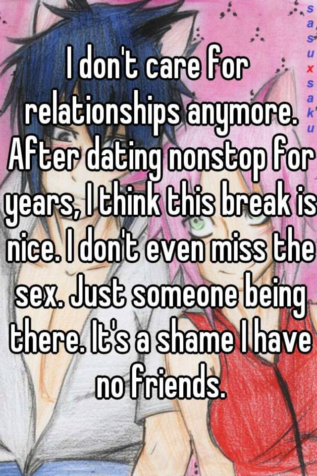 No sex after a year of dating