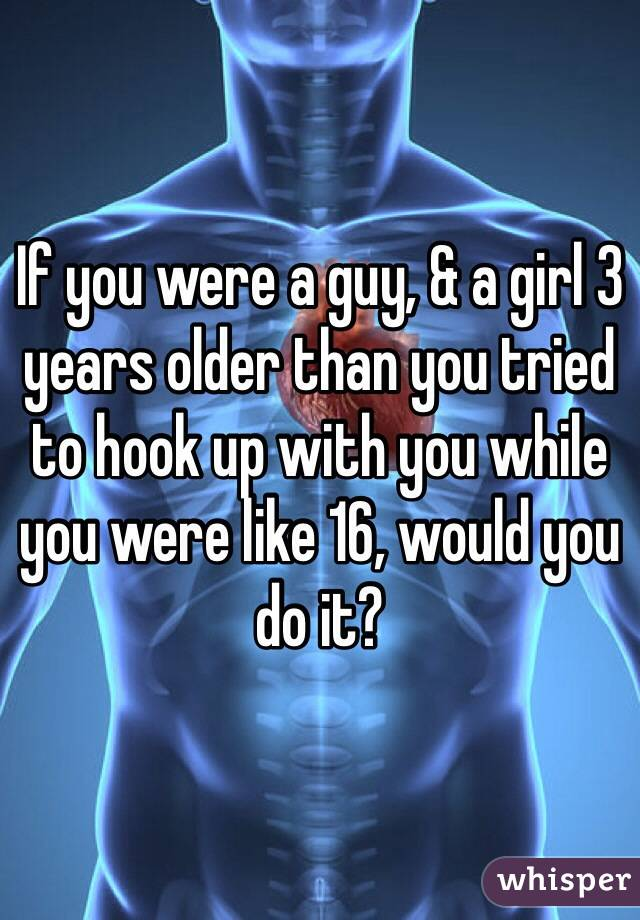 You Much A Than Guy Hookup Older