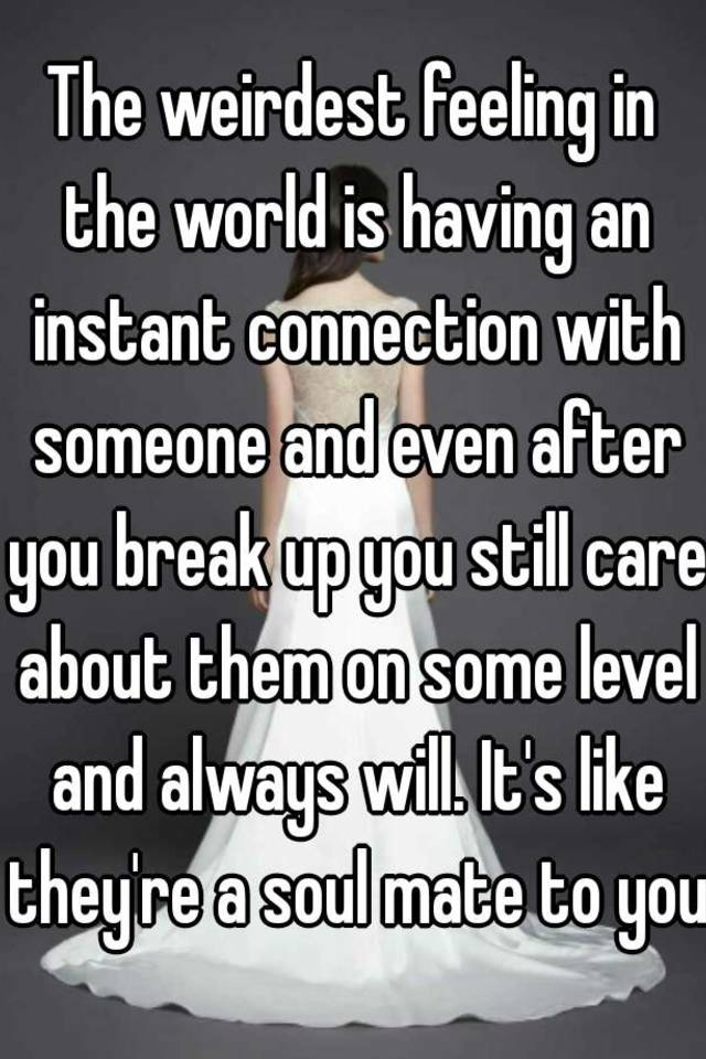 Instant connection with someone