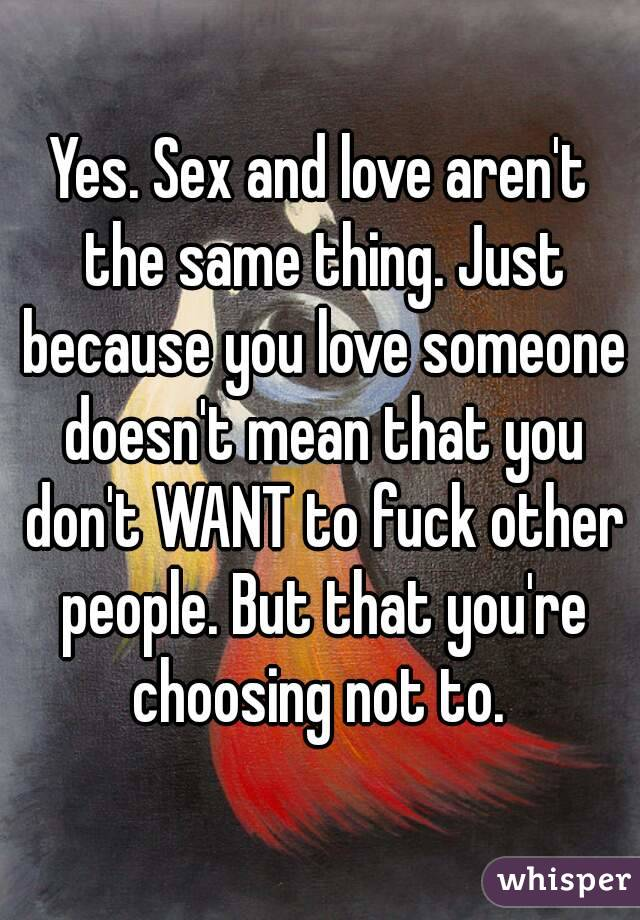 Someone who doesn t like sex