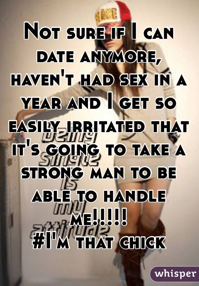 Haven t had sex in a year will it hurt