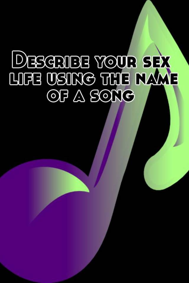 Its your sex life ad song