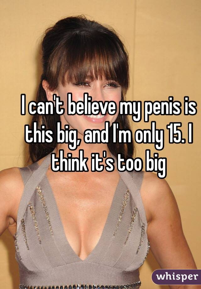 My Penis Is Big