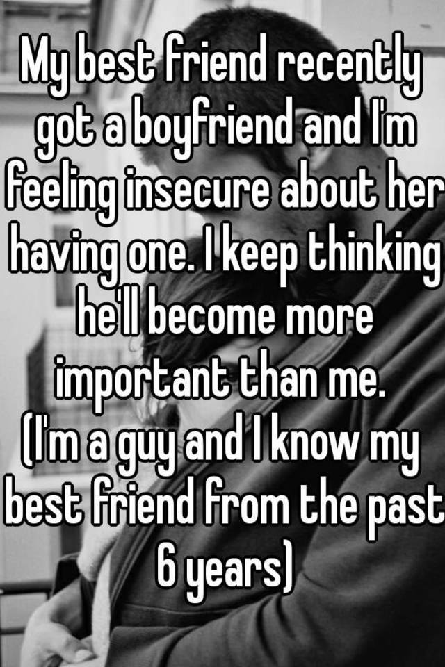 My boyfriend is insecure about my past