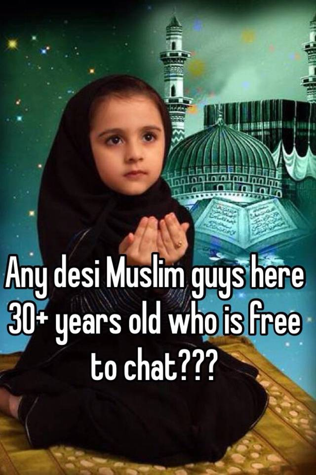 Desi muslim chat