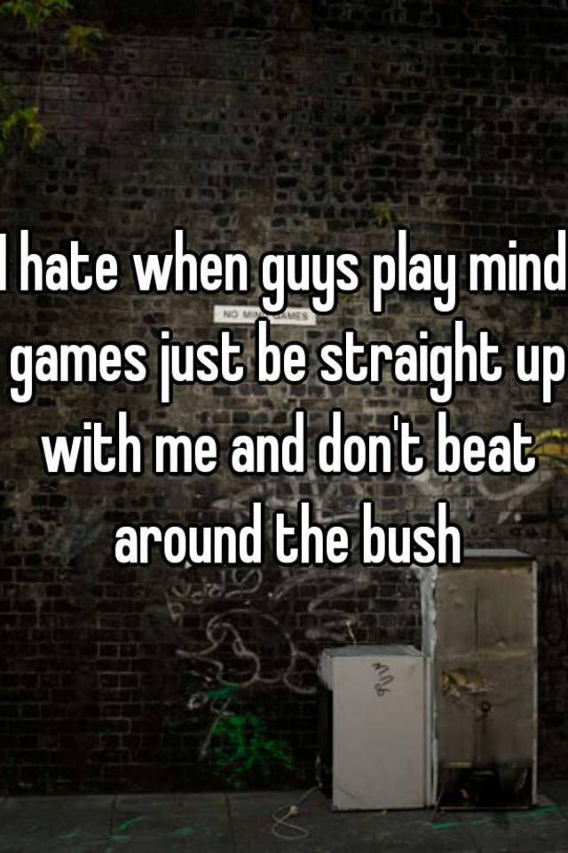 how to play mind games with a guy