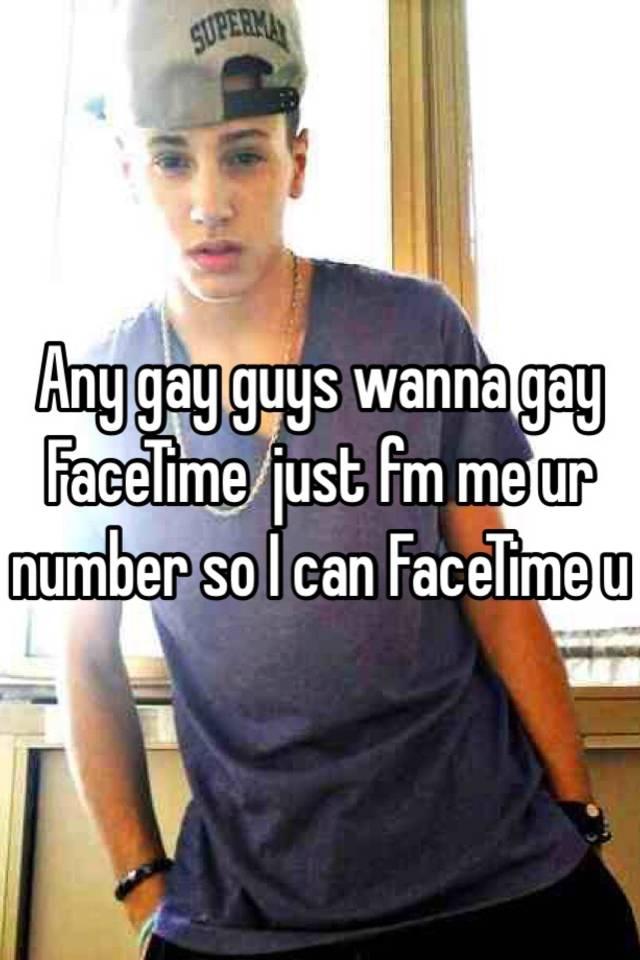 Gay facetime names