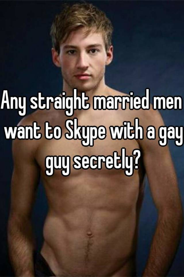 Gay men straight marriage