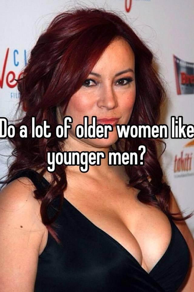 do girls like younger guys