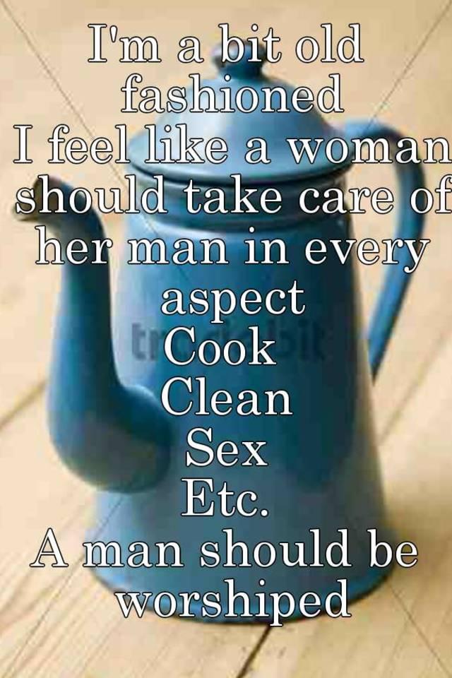 ma i feel like a woman