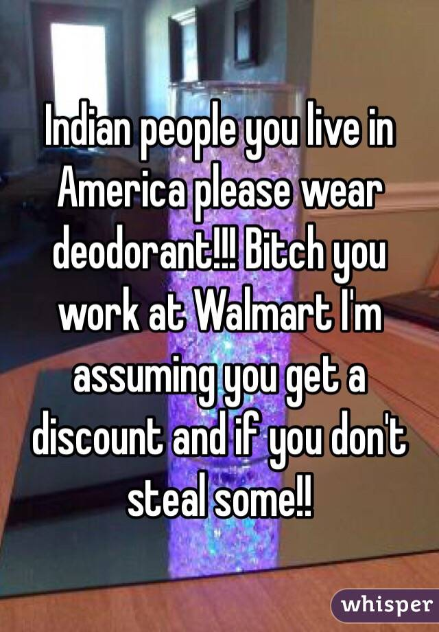 Why don t indians wear deodorant
