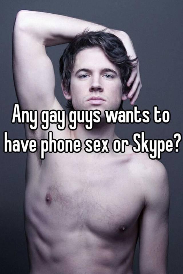 Gay sex on skype