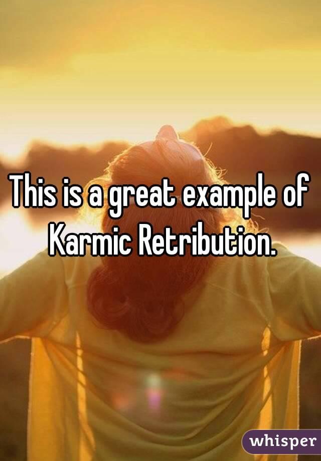 retribution example
