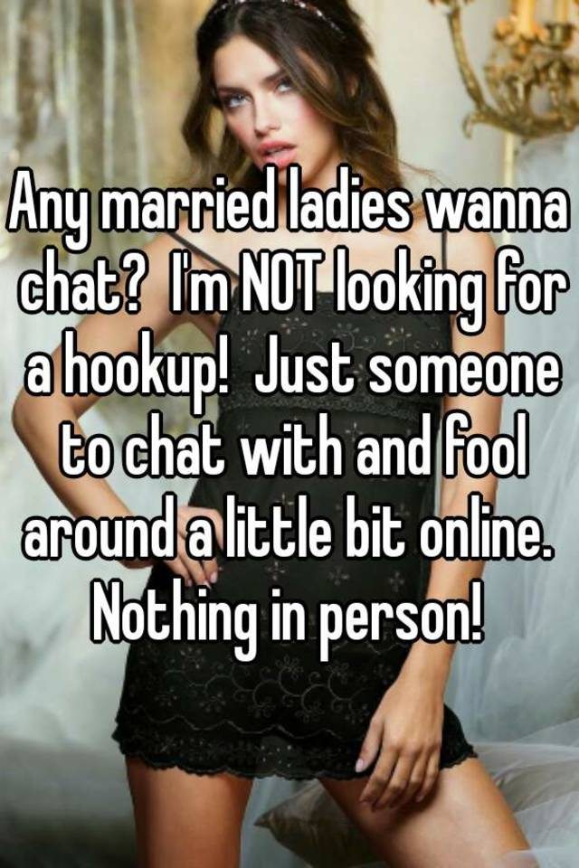 married but not happy chat