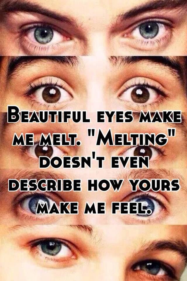 describing eyes