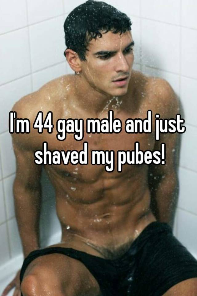 pubes Males pics shaved with