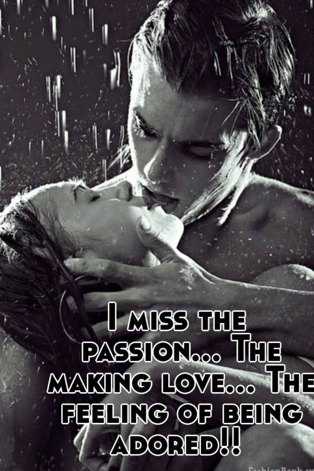 love passion Making with