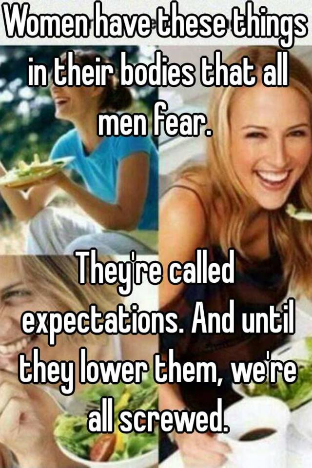 What is the fear of women called