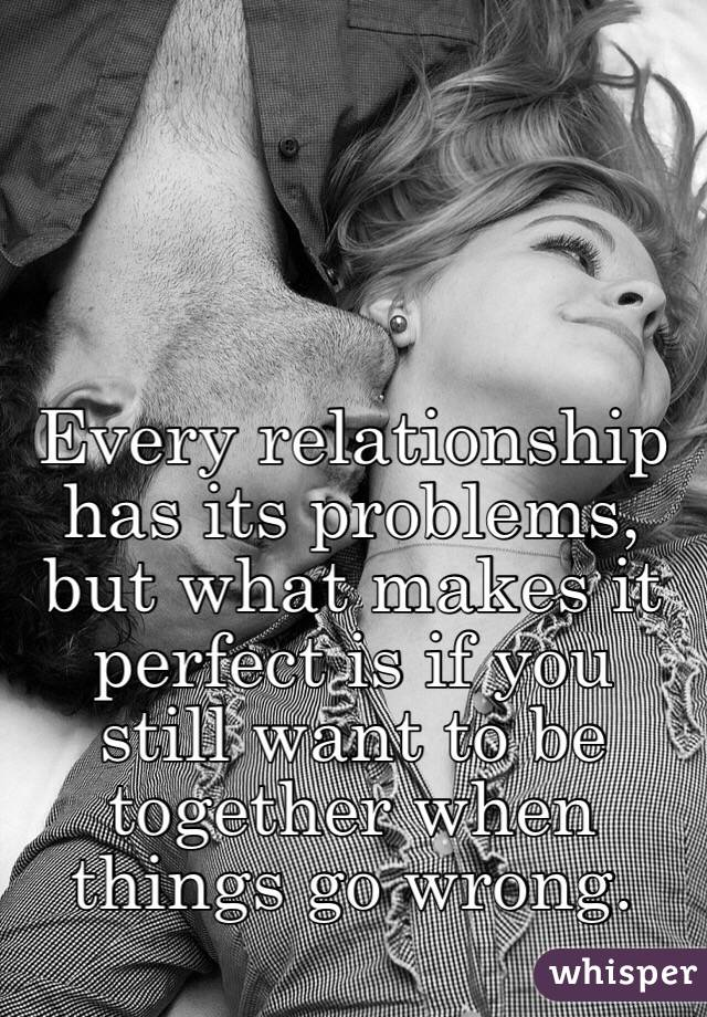 When things go wrong in a relationship