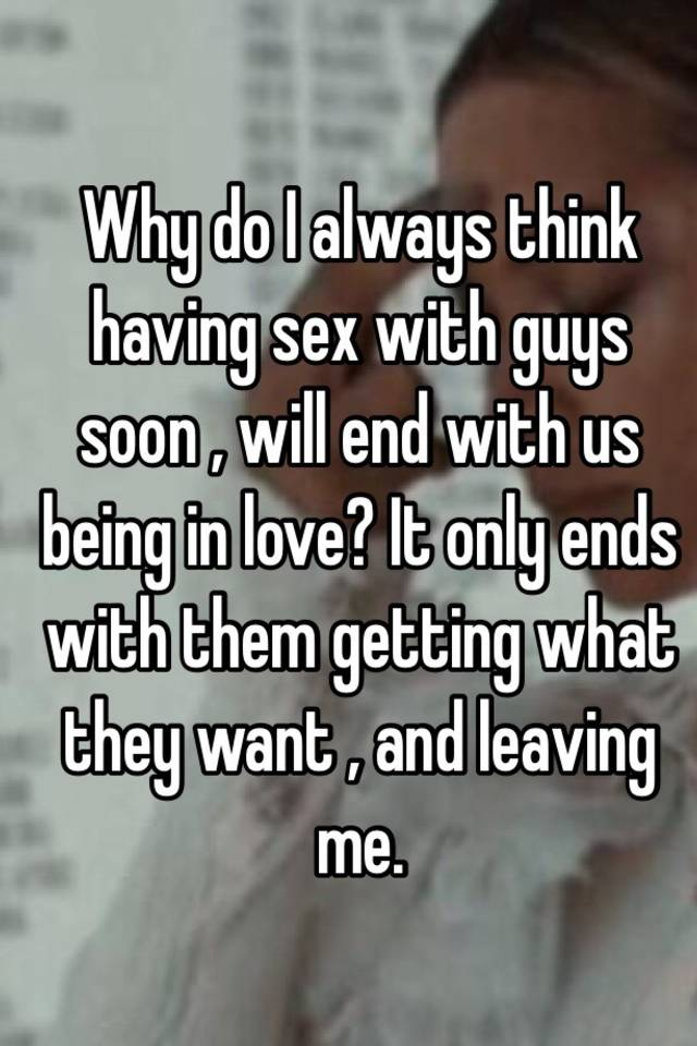 Always i it love only sex