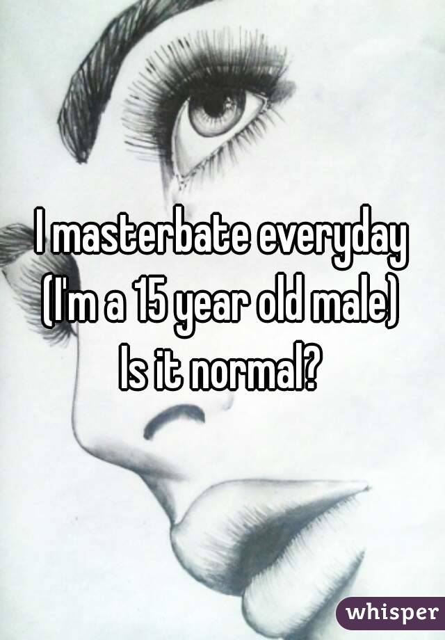 is it good to masterbate everyday