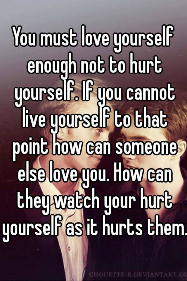 why you should love yourself