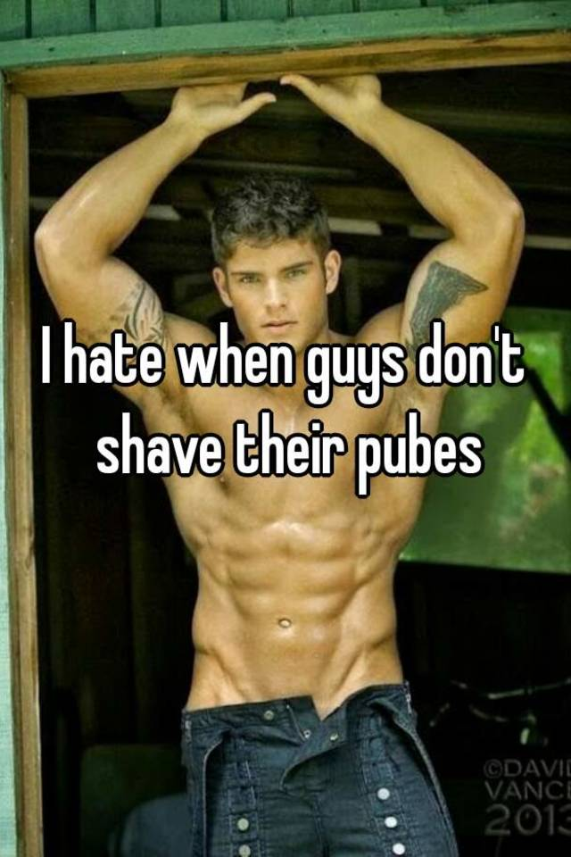 Have hit shaved male pube photo