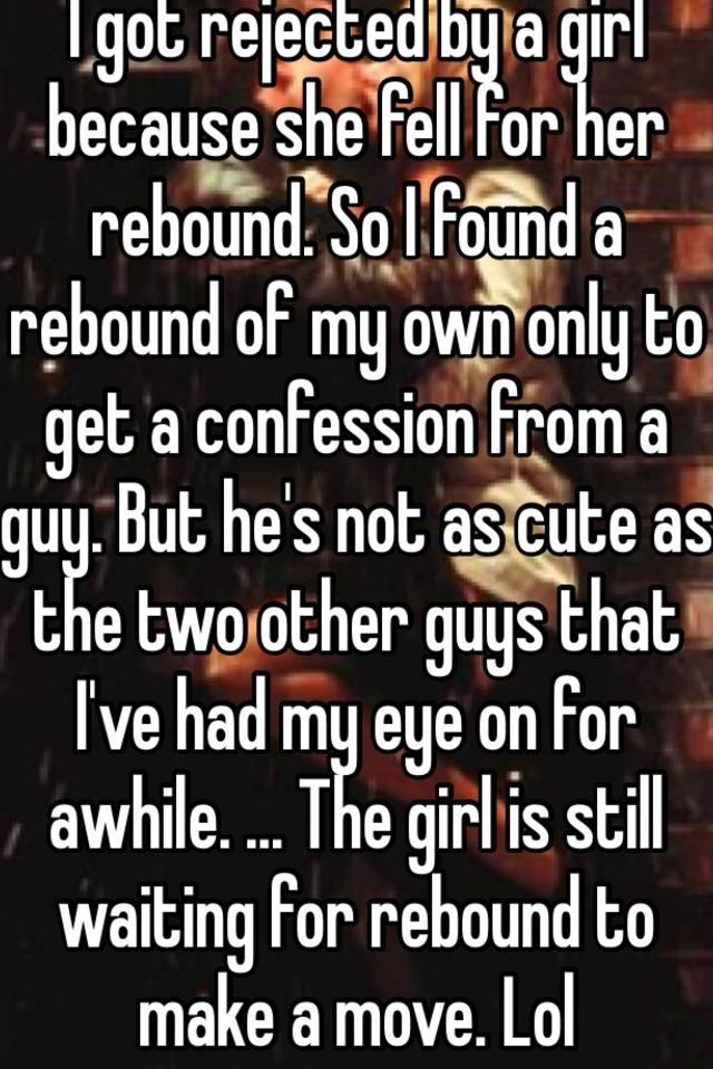 guys on the rebound
