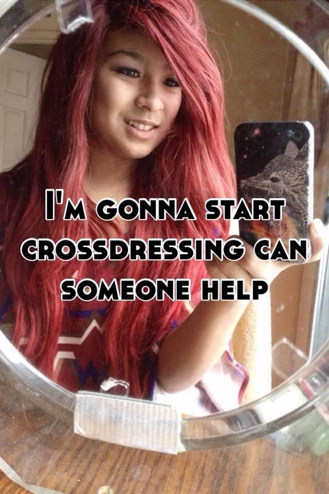 Cross dressing help