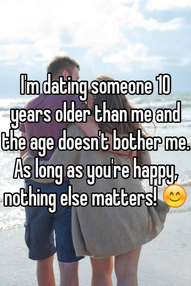 Dating a girl a year older