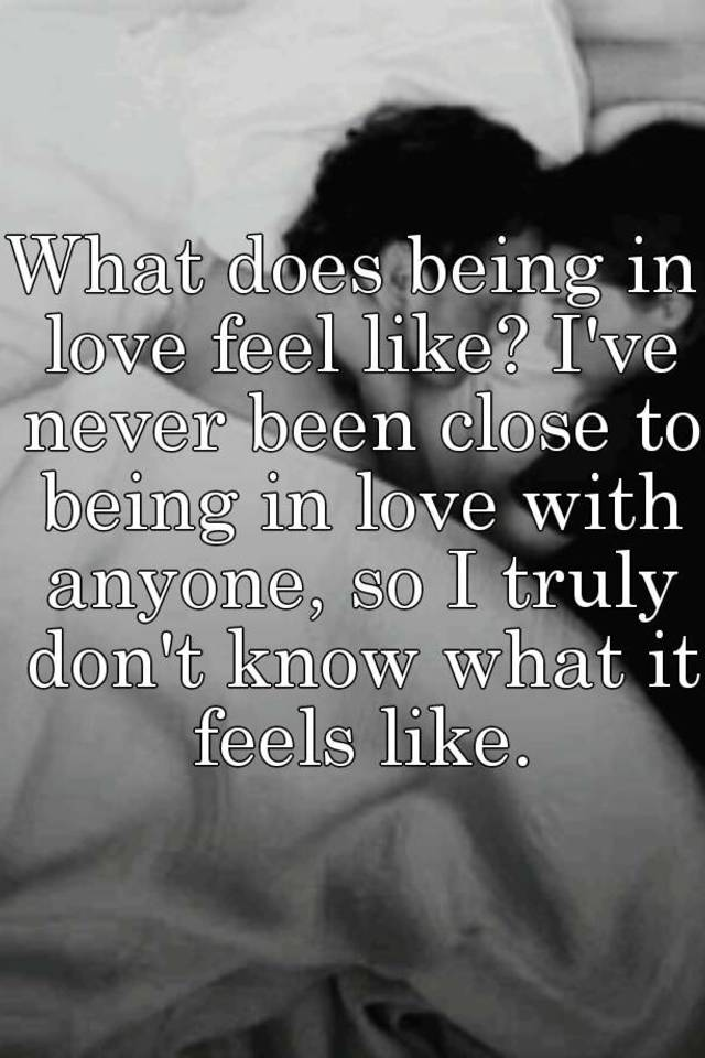 What does real love feel like